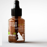STILLA Huile de chanvre au CBD bio ANIMAL 50ml