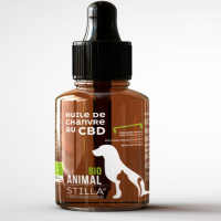 STILLA Huile de chanvre au CBD bio ANIMAL 100ml