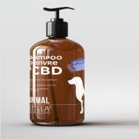 STILLA Shampoing chanvre au CBD pour animaux