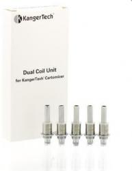 Résistances Kangertech Dual Coil Pack 5