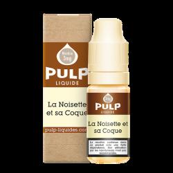 Eliquide PULP Noisette et sa coque