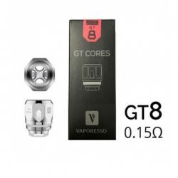 Résistances GT Vaporesso GT8 0,15