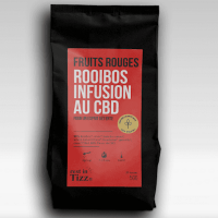 Thé Rooibos fruits rouges / CBD Bio